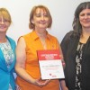 Alvina Berggren receives  Red Cross Distinguished Service Award