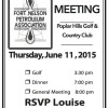 FN Petroleum Association General Meeting