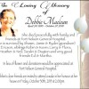 Obituaries 2015 – Debbie Maclean