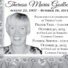 Obituaries 2015 – Theresa Godber